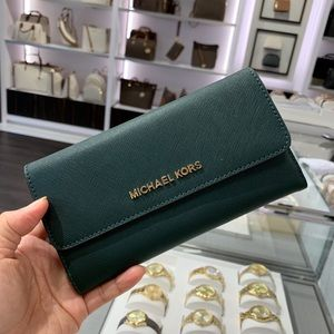 Michael Kors Trifold Leather Wallet